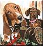 Fletcher, Daisy the Basset Hound, Dachshund
